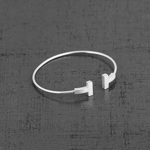 دستبند نقره BR1003،فروشگاه نقره اسپینل