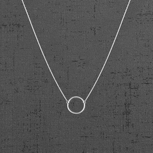 گردنبند نقره PN1017،فروشگاه نقره اسپینل
