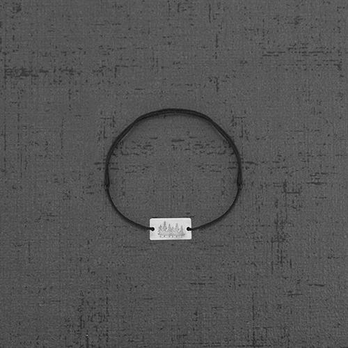 دستبند نقره BR1002،فروشگاه نقره اسپینل