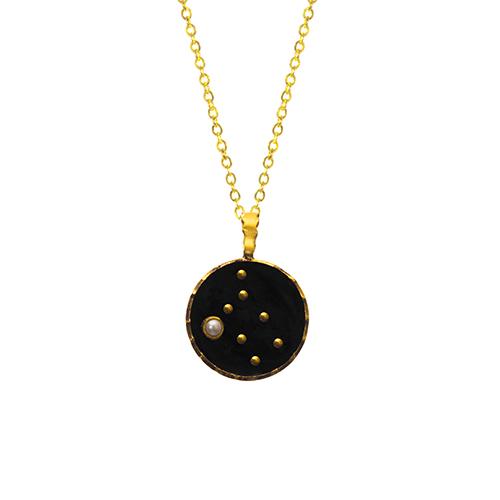 گردنبند ماه تولد (زودیاک) خرداد،فروشگاه نقره اسپینل