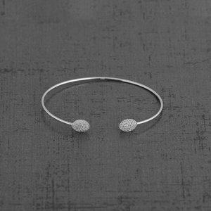 دستبند نقره BR1017،فروشگاه نقره اسپینل