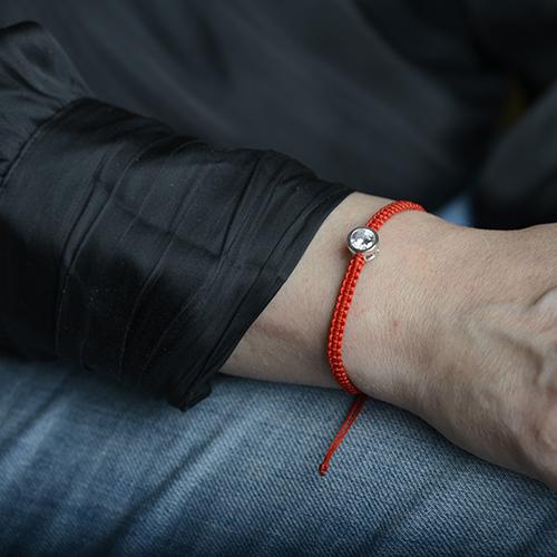 دستبند نقره BR1027-3،فروشگاه نقره اسپینل
